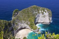 Manta da vista, Nusa Penida em Indonésia fotografia de stock royalty free