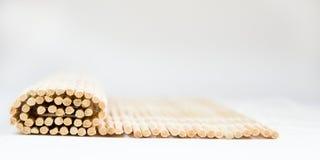Manta de bambú imagen de archivo libre de regalías