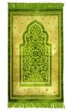 Manta de rezo para los musulmanes Foto de archivo libre de regalías