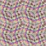 Manta de tartã abstrata sem emenda Fotografia de Stock Royalty Free
