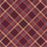 Manta de tartan Textured Foto de Stock Royalty Free