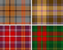 Manta de tartan Textured dos seamles Imagens de Stock Royalty Free