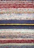 Manta de trapo tejida eliminada Fotos de archivo