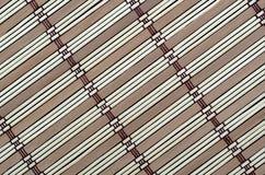 Manta del bambú del fondo Fotografía de archivo libre de regalías