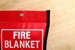 Manta del fuego en escena del paquete Fotografía de archivo
