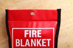 Manta del fuego en escena del paquete Fotos de archivo libres de regalías