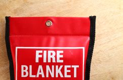 Manta del fuego en escena del paquete Foto de archivo