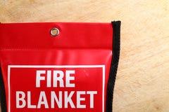 Manta del fuego en escena del paquete Fotografía de archivo libre de regalías