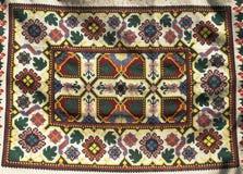 Manta del ornamento de la vendimia Foto de archivo libre de regalías