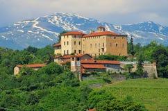Manta do della de Saluzzo Castello Fotografia de Stock Royalty Free