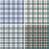 Manta escocesa abstrata Foto de Stock