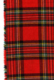 Manta escocesa vermelha Imagens de Stock