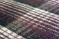 Manta gruesa del mexicano de la tela escocesa Imagen de archivo libre de regalías