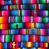 Manta guatemalteca Imagen de archivo libre de regalías