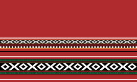 Manta hecha a mano tradicional de Sadu Foto de archivo