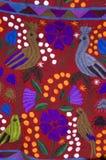 Manta mexicana del pájaro Imagen de archivo libre de regalías