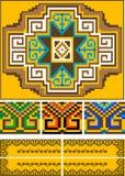 Manta, pedazo del ornamento. Pattern.Illustration. Foto de archivo libre de regalías