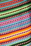 Manta peruana Imágenes de archivo libres de regalías