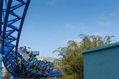 Manta Ray Roller Coaster Ride em Seaworld San Diego Califórnia do sul EUA Imagem de Stock Royalty Free