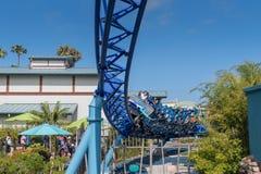 Manta Ray Roller Coaster Ride em Seaworld San Diego Califórnia do sul EUA Fotografia de Stock