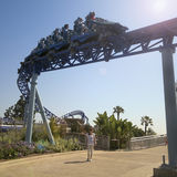 A Manta Roller Coaster Ride, SeaWorld, San Diego Stock Images