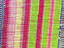 Manta tejida colorida Foto de archivo libre de regalías