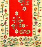 Manta tradicional rumana Foto de archivo