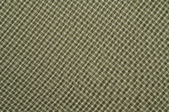Manta verde e branca Imagem de Stock Royalty Free