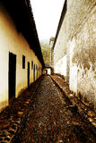 Mantang Hakka enclosed house Stock Photography