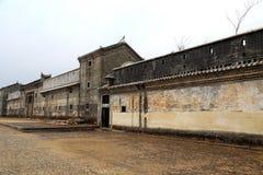 Mantang Hakka enclosed house Stock Images