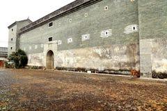 Mantang Hakka enclosed house Stock Photo