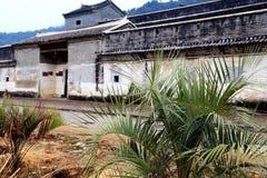 Mantang Hakka enclosed house Stock Photos