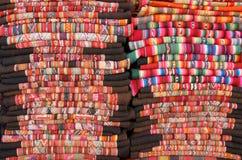 Mantas bolivianas Fotografía de archivo libre de regalías