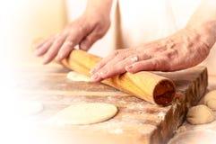 Mantas_cooking_process_14 Royalty Free Stock Images