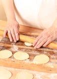 Mantas_cooking_process_11 Royalty Free Stock Image