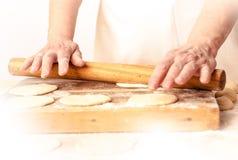 Mantas_cooking_process_13 Stock Photography