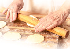 Mantas_cooking_process_12 Royalty Free Stock Photography