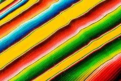 Mantas mexicanas coloridas Fotografía de archivo
