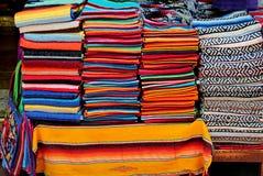 Mantas mexicanas coloridas Imagenes de archivo