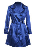 Manteau bleu Images stock