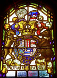 Manteau de court suprême Londres Angleterre de bras Photographie stock libre de droits