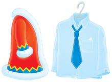 Manteau de fourrure et chemise Photos stock