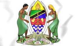 Manteau de la Tanzanie des bras illustration de vecteur