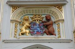 Manteau des bras de Bruges photographie stock