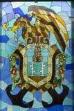 Manteau des bras de l'état de Veracruz photos stock