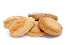 Mantecados and polvorones, typical christmas sweets in Spain Royalty Free Stock Photography