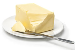 Manteiga Imagem de Stock Royalty Free