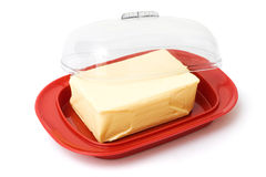 Manteiga foto de stock