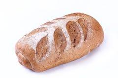 Manteiga com fundo branco isolado pão Foto de Stock Royalty Free