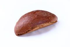 Manteiga com fundo branco isolado pão Imagens de Stock